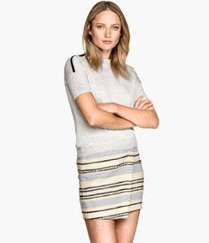 H&M Top z wełny merynosowej 149,90 PLN
