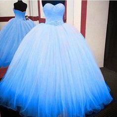 YAY OR NAY? 💙 #Dress #quinceanera Tag Someone Who'd Love This👇🏼