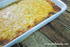 Today I have a fantastic side dish to share with you all! This is a Rice, Bean, and Cheese Bake. It has become a family favori...