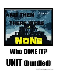 and then there were none suspense essay In this lesson, we will look at some examples of foreshadowing from agatha christie's ''and then there were none'' miss christie uses.