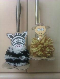 Pom-Pom animals :)