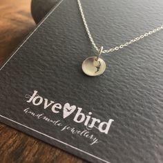 Simple and elegant little silver pendant with the choice of two seagull pierced designs. Perfect for layering or on its own. Handmade in solid silver bear the beach in Devon, UK.   Bird necklace, inspired by the sea.  https://www.etsy.com/uk/listing/270875354/silver-seagull-silhouette-necklace-small