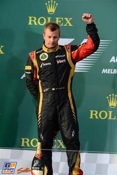 Kimi Räikkönen, Lotus Renault, 2013 Australian Formula 1 Grand Prix, Formula 1