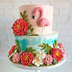 Que liiiiiiiiiindo  By @_leslie_vigil_ #festejandoemcasa #flamingosfc #boloflamingo #festaflamingos