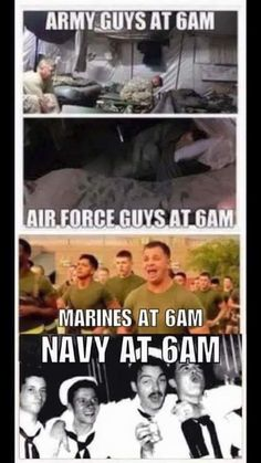 "33 Navy Memes That Even The 'Blue Ropers' Will Enjoy - Funny memes that ""GET IT"" and want you to too. Get the latest funniest memes and keep up what is going on in the meme-o-sphere. Marine Humor, Marine Memes, Navy Jokes, Navy Humor, Navy Day, Go Navy, Navy Military, Military Life, Navy Marine"