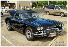 1961 Corvette, Chevrolet Corvette, Custom Classic Cars, Custom Cars, Sexy Cars, Hot Cars, Rat Hod, Classic Car Garage, Coolest Cars