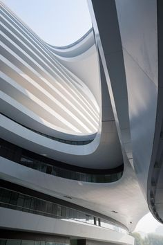 GALAXY SOHO by Zaha Hadid as Architects photographer Iwan Baan