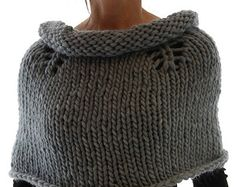 Instructions to make: Magnum Capelet 13 PDF knitting pattern