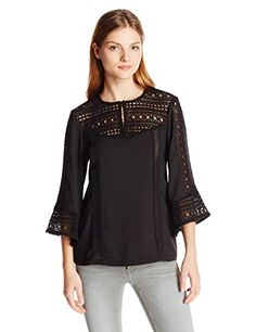 http://www.athenefashion.com/women/nanette-lepore-womens-flutter-sleeve-top/ cool Nanette Lepore Women's Flutter Sleeve Top