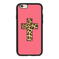 iPhone 6 Plus/6/5/5s/5c Case - Chic Trendy Leopard Animal Print... ($40) ❤ liked on Polyvore featuring accessories, tech accessories, iphone case, pink iphone case, print iphone case, neon iphone case and leopard iphone case
