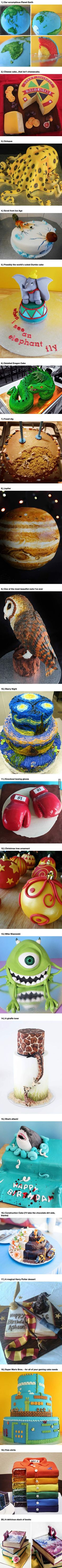 Here Are The Most Deliciously Genius Cakes Ever Creative. OMG THE LAST ONE!!!! I NEED IT!!