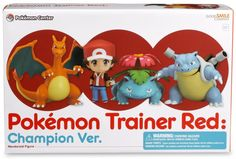Ash With Three Starters Nendoroid Figure Set //Price: $64.95 & FREE Shipping //     #pokemonforever