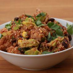 One-Pan Southwestern Chicken Quinoa Hallumi Recipes, Hotdish Recipes, Appetizer Recipes, Lasagna Recipes, Steak Recipes, Sandwich Recipes, Shrimp Recipes, Italian Recipes, Baking Recipes