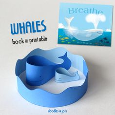 Whales Book & Printable ~ Doodles and Jots