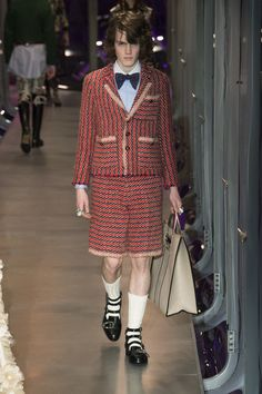 Gucci Fall 2017 Ready-to-Wear Fashion Show - Twan Van Der Togt