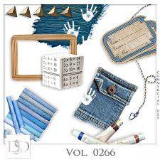 Vol. 0266 School Mix by D's Design  #CUdigitals cudigitals.comcu commercialdigitalscrapscrapbookgraphics #digiscrap