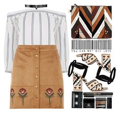 """""""Без названия #91"""" by darina-kozlova ❤ liked on Polyvore featuring Jérôme Dreyfuss, Gianvito Rossi, Warehouse, Dorothy Perkins, Fallon, CASSETTE, Givenchy, Too Faced Cosmetics, Benefit and NARS Cosmetics"""