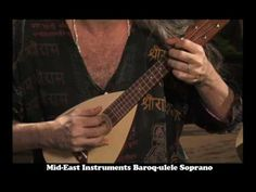 Greensleeves - Ukulele Bartt on Mid-East Baroq-ulele