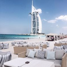 Dubai is literally the definition of my motto: Live the Luxury Beach Lifestyle #travel #luxe #dubai