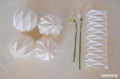 DIY Geometriske bolde - Starfolds.dk