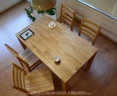 「J.PULSE / ジェイパルス」で取り扱う商品「無垢材 ダイニングテーブル ORZ(オーズ) ナチュラル 135cm」の紹介・購入ページ