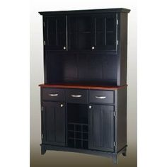 Home Styles 5100-0042-42 Large Wood Server Buffet Table