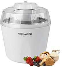 "Andrew James Ice Cream, Sorbet and Frozen Yoghurt Maker With 2 Year Warranty + 1.5 Litre Capacity - voted ""Best Buy"" Ice Cream Maker By Which Magazine, http://www.amazon.co.uk/dp/B003UFNJ1Y/ref=cm_sw_r_pi_awdl_vtDBwb09MM114"
