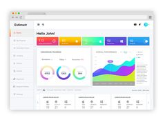 Estimatr: Project Estimation Dashboard UI