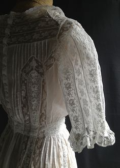 Antique summer victorian dress