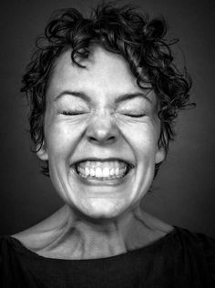 Olivia Coleman by Andy Gotts.
