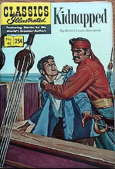 Kidnapped #46 Classics Illustrated Comic Book- HRN 169- Fine (111178)