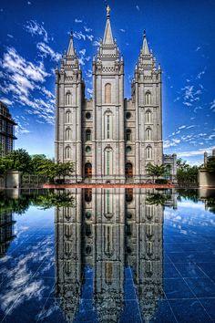 Salt Lake City Temple, Downtown    #MormonLink #LDSTemples