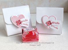 Schönes aus Papier handgemacht!: Anleitung Mon Cherie box  box template