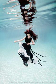 Azalea Noir I - Feline Blush  Photographer: Ilse Moore  Model: Elsa Bleda