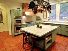 Red Floor Tiles for Kitchen | All About: Terracotta Kitchen Floor Tiles Kitchen Flooring Spotlight ...