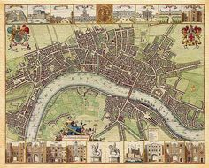 London Map by Hollar