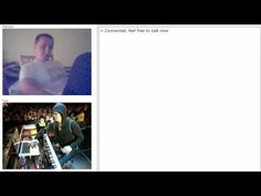 Chat Roulette with Ben Folds  (there are curse words in this video, but if you Know Ben Folds then you knew that already. ) P.S This video made my day. :)