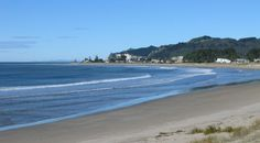 Another of the beaches we love, Whangamata, New Zealand