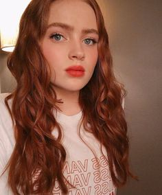 Makeuphall: The Internet`s best makeup, fashion and beauty pics are here. Finn Stranger Things, Sadie Sink, Zendaya Coleman, Millie Bobby Brown, Celebrity Crush, Pretty People, Me As A Girlfriend, Redheads, Red Hair