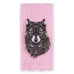 Coque Sony Xperia L1 - Loup Tribal