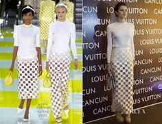 Isabeli Fontana In Louis Vuitton – Louis Vuitton Cancun Boutique Opening