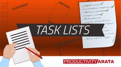 How to be more organized with task lists | Productivity Arata 11