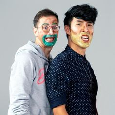 """ eugeneleeyang Happy Birthday, Zach - one of the tiniest and strongest people I know! 🎁💚🐱 This is literally the only unreleased photo I could find with just the two of us together. Eugene Lee Yang, Ariana Grande Justin Bieber, Try Guys, Photo Grouping, Smosh, Dear Evan Hansen, People Change, Grown Man, The Fault In Our Stars"