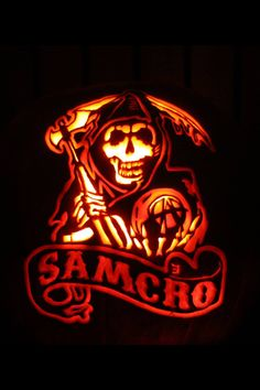 Sons Of Anarchy Stoneykins Pumpkin Carving Patterns And Stencils