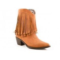Roper Ladies' Cowboy Boot Mankinz Tan