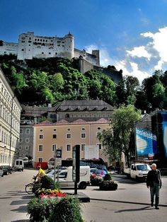 #Salzburg fortress - Austria  My husband proposed to me up there :)