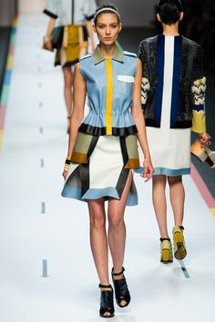 Kati Nescher at Leather Patches by Fendi