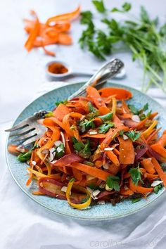 Indian Spiced Carrot Salad