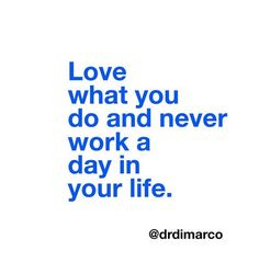 """Even though it might take some effort, when you love what you do it never feels like """"work."""" Type """"yes"""" if you agree! When You Love, S Quote, Never, Effort, Feels, Success, Type, Celebrities, Day"""