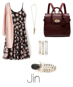 """Summer nights with Jin"" by bts-outfit-imagines on Polyvore featuring Chicwish, Rebecca Minkoff, Roberto Cavalli, Cara and Mulberry"